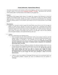 Project Deliverable Progress Report Memo 2 V2 By Tahnja