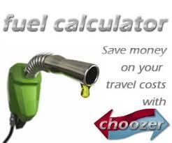 Trip Charge Calculator Trip Fuel Cost Calculator Choozer Co Uk