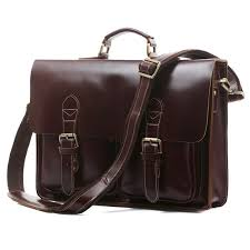 coffee luxury leather briefcases