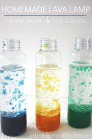 Homemade Lava Lamp Experiment Preschool Sensory Activities