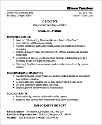 Sample General Objective For Resume Sample General Objective For Resume 7 Examples In Pdf