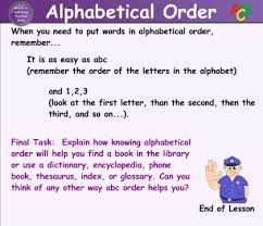 Alphabetical Order Smart Exchange Usa Alphabetical Order As Easy As Abc
