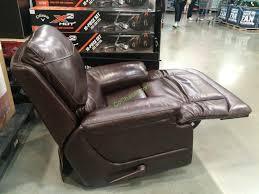 simon li leather glider recliner