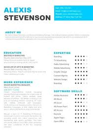 Pages Templates Resume Pages Templates Resume Modern One Page Resume