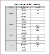 Week Hour Schedule Template Hour Schedule Template Scheduling Template