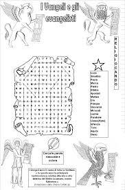 Disegni Per Bimbi Simboli Quattro Evangelisti Da Colorare Colorare