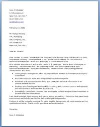 download our free administrative assistant cover letter examples for your job search and start applying for jobs executive assistant cover letter