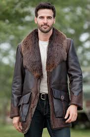 bedding glamorous leather fur coat for men 13 leather fur coats for women