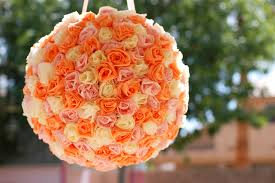 How To Make Rose Flower With Tissue Paper Kate Landers Events Llc Tissue Rose Piñata Diy Feature