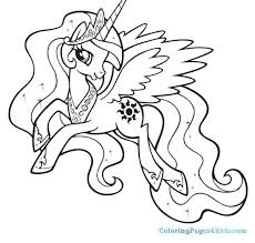 Little Pony Coloring Pages My Little Pony Coloring Pages Twilight