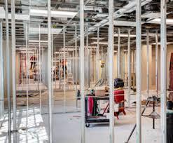 interior metal framing. Building Interior Metal Stud Framing E