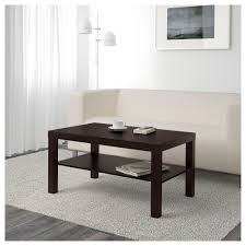 ... Coffee Table, Wonderful Dark Brown Rectangle Simple Metal IKEA Lack  Coffee Table With Storage Idea ...