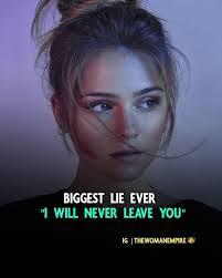 Biggest lie 😠☹️☹️😟 | Power of positivity, Positivity, Motivational quotes