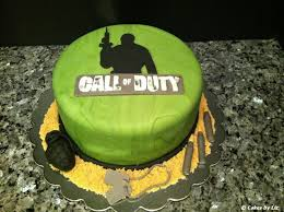 Cakes by Liz Call of Duty cake
