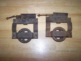 old stanley pocket door hardware