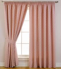 Pink Bedroom Window Curtains