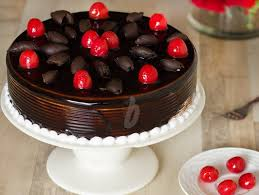 German Black Forest Cake German Gateau Cake Bakingo