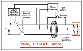 elci a \u201cprimer\u201d cruising aboard monk36 trawler sanctuary 240 Volt Gfci Breaker Diagram 240v equipment ground fault protective device electrical drawing, typical 240 volt gfci breaker wiring diagram