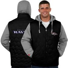 Ravens Baltimore Full Midnight Jacket Line Zip Pro Sleeper