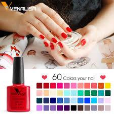 61508 Venalisa Easy Soak Off Gel Nail Uv Led Lamp Gel Polish 60
