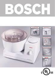 Universal Kitchen Appliances Bosch Appliances Blender Mum 6630 Uc User Guide Manualsonlinecom