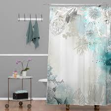 perky deny designs iveta abolina polyester seafoam shower curtain 16071 shocur