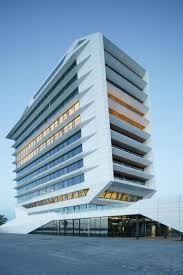office facade. wonderful facade shiplike headquarters for calvin klein and tommy hilfiger overlooks  amsterdamu0027s ij river intended office facade n