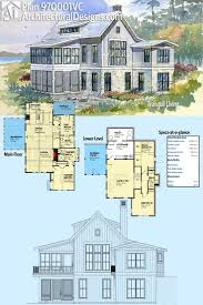 baby nursery lakefront house plans sloping lot lake home best homes for the images on floor architecture and