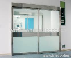 intensive care unit double pane sliding