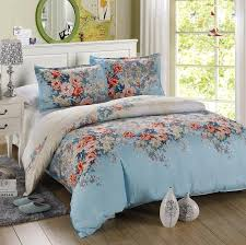 full size duvet. Interesting Size 4PCS Twin Full Size Luxury Comforter Set Microfiber Sheets Turquoise  Bedding Blue Orange Green Peony Flowers Floral Beddingin Bedding Sets From Home  Throughout Full Size Duvet