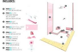 kerdi shower kit 32x60 shower kit systems shower kit center drain schluter kerdi shower kit 32x60