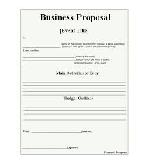 sample business proposal 30 business proposal templates proposal letter samples