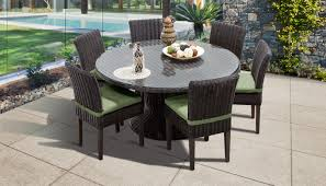 round outdoor dining set for 6 off 52