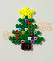 Christmas Ornaments Hama Perler Beads By Love Cupcoonka  Www Perler Beads Christmas Tree