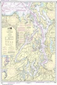 Noaa Nautical Chart 18440 Puget Sound