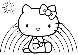 Coloring Page Of Hello Kitty Sigirifurniture Info