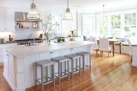 White kitchen dark wood floor Silver Kitchens With Wood Floors And Cabinets The Beautiful Knotty Texture Of Blazen Kennels Kitchens With Wood Floors And Cabinets Light Cabinets With Dark