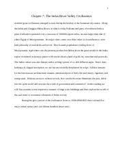 indus valley civilization study resources 17 pages chapter 7 indus valley civilization