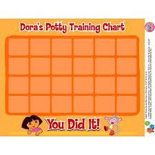 Doras Potty Training Chart By Nick Jr My Kiddos Favs
