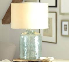 clear glass lamp base glass table lamp base pottery barn with lamps prepare 6 round clear