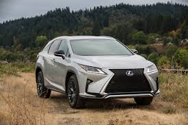 2016 Lexus Rx Redefines Segment With Style Ride Comfort And
