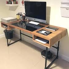 cool office desk ideas. Fine Desk Computer Desk Blueprints Free Designs To Cool Office Ideas S