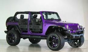 2018 jeep wrangler unlimited modified purple