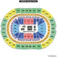 Ppg Paints Seating Chart Hockey 56 You Will Love Ppg Paints Arena Seating Capacity