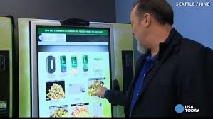 Dispensary Vending Machine Inspiration Seattle Gets A Marijuana Vending Machine