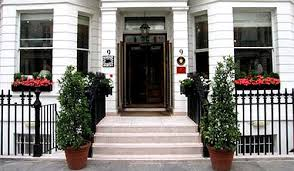 Choice of London Bed and Breakfasts and small London hotels