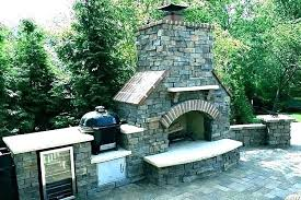 outdoor brick fireplace plans building how to build a an masonry diy stone kits