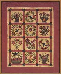 Best 25+ Wool applique quilts ideas on Pinterest | Wool applique ... & This is for the pattern only. This beautiful fabric-wool applique quilt  pattern measures Adamdwight.com