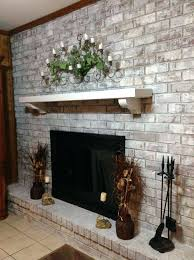 whitewash brick fireplace before and after how to whitewash brick fireplace whitewash brick fireplace before and after