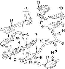 mazda 6 engine parts diagram parts com® genuine factory oem 2004 mazda 6 s v6 3 0 liter gas diagrams